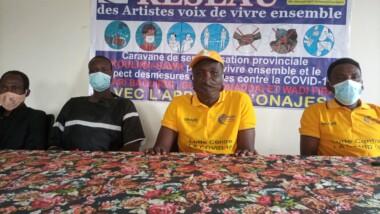 Coronavirus : des artistes envisagent une sensibilisation dans quatre provinces