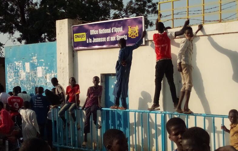 Tchad vs Soudan : les supporters obligés de suivre le match derrière les murs