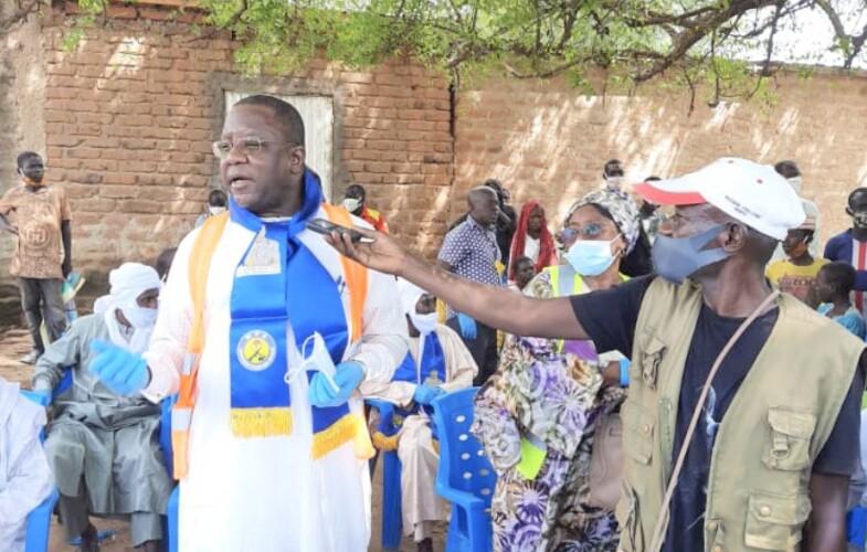 """Tchad : """"Nous devons faire en sorte que s'instaure entre les deux composants de notre économie une paix durable"""", Jean-Bernard Padaré"""