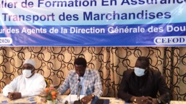 Tchad : 40 agents de la douane outillés en assurance de transport des marchandises