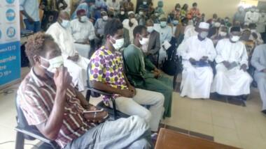 Tchad : les ex-otages de Boko haram présentés au ministère de la santé