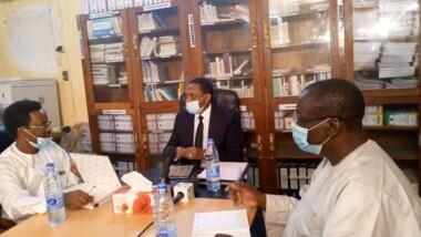 Tchad : le ministre de la communication rencontre la nouvelle équipe de l'ONAMA