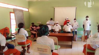 Coronavirus : l'ADC en opération de sensibilisation au lycée féminin d'Amriguébé