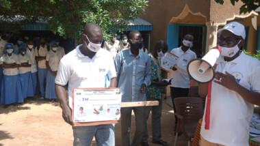 Tchad : L'ADC sensibilise les élèves du lycée Zénith sur les dangers de la Covid-19