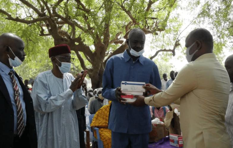 Coronavirus : Des kits de protection offerts au Lycée Agro-pastoral d'Am-Timan