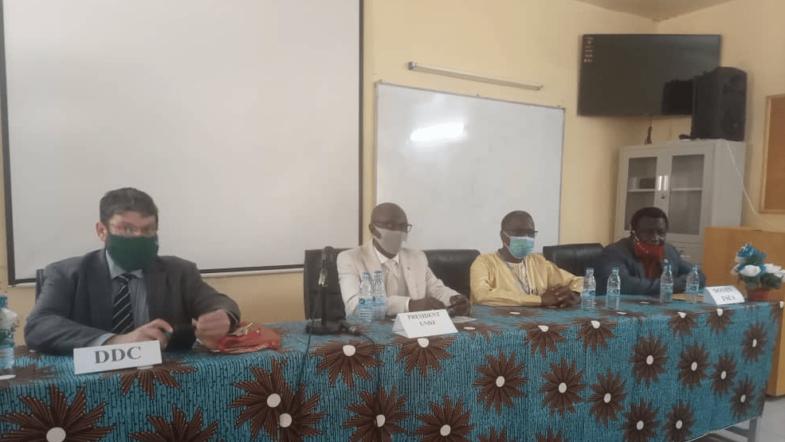 Le master Hydrosig de la faculté des sciences exactes et appliquées de N'Djamena en cours d'évaluation