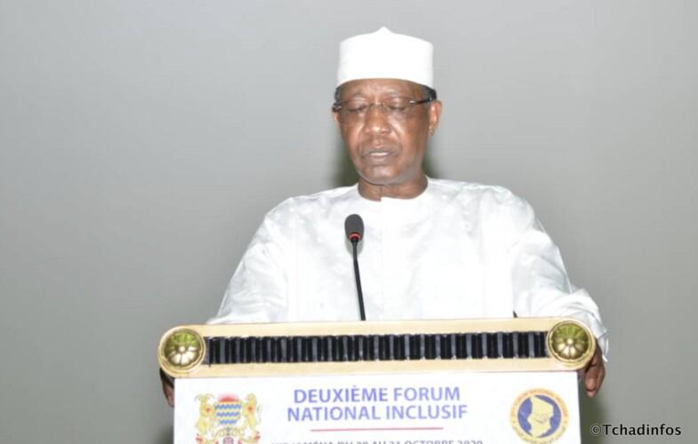 Forum National Inclusif : Idriss Deby Itno salue la création de la vice-présidence et du sénat
