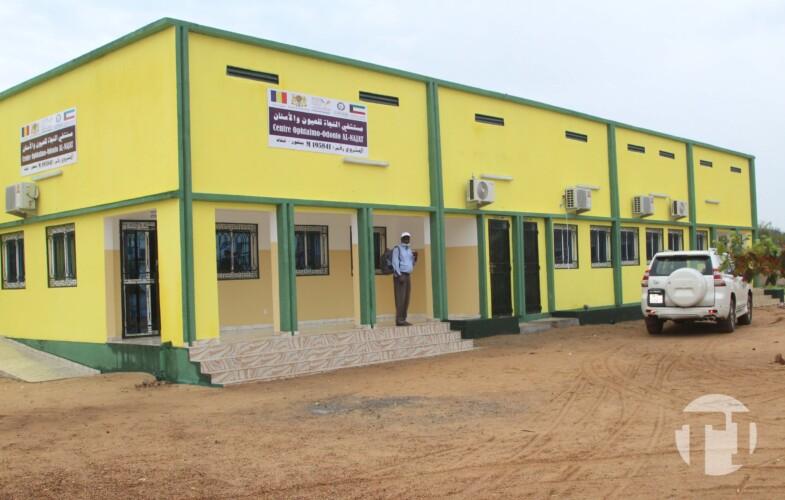 Tchad : la ville de Bongor est dotée d'un centre d'ophtalmologie