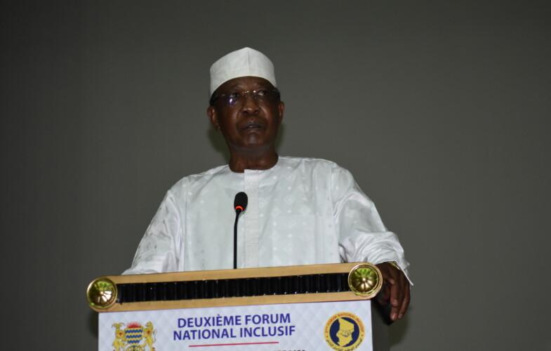 """2e Forum National Inclusif : """"Je dis haut et fort que personne n'est exclu de ces assises qui visent au premier chef à consolider l'unité nationale et à renforcer la démocratie à la base"""", Idriss Deby Itno"""