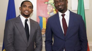 Tchad : Samuel Eto'o et Nair Abakar nommés Ambassadeurs Itinérants