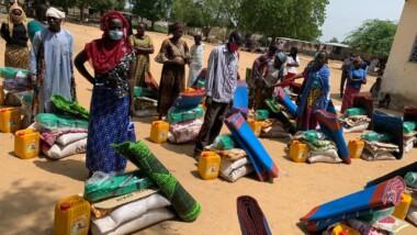 Tchad : Le gouvernement assiste les sinistrés du 9e arrondissement