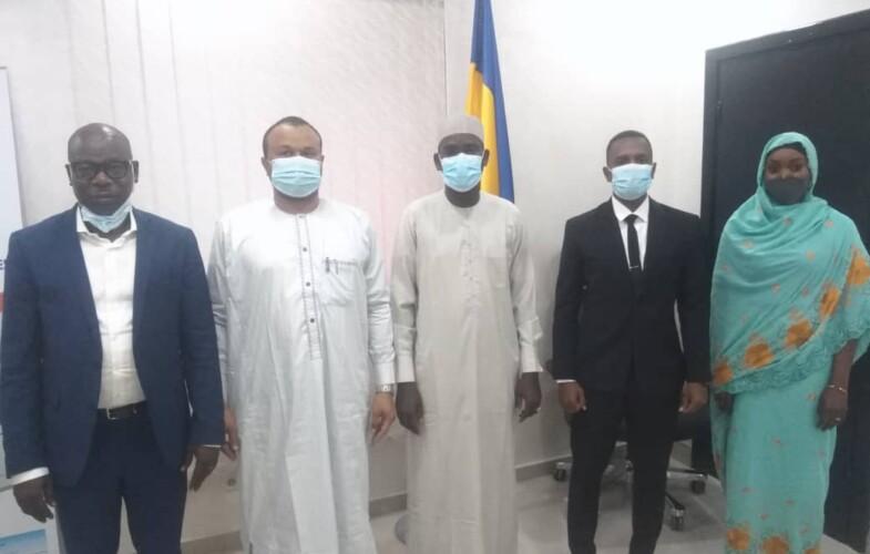Tchad : tête-à-tête entre le ministre des Postes et l'ambassadeur de l'entreprenariat durable