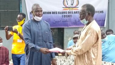 Tchad : Mahamat Ali Saleh prend les rênes de la Coordination des clubs des artistes