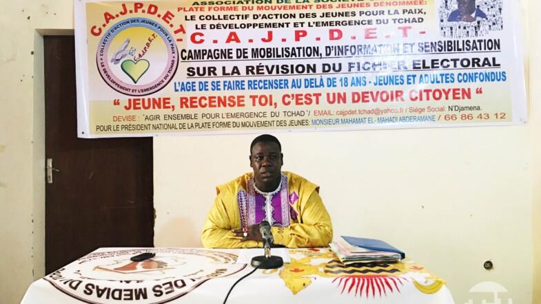 Révision du fichier électoral : le Collectif d'Action des Jeunes pour la Paix se met à la sensibilisation