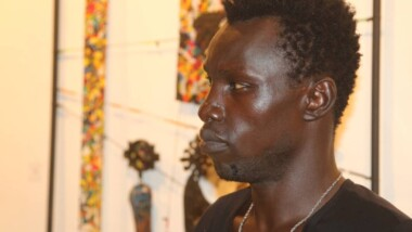Culture : Guidimbaye Apollinaire veut placer le Tchad sur le marché international de l'art plastique