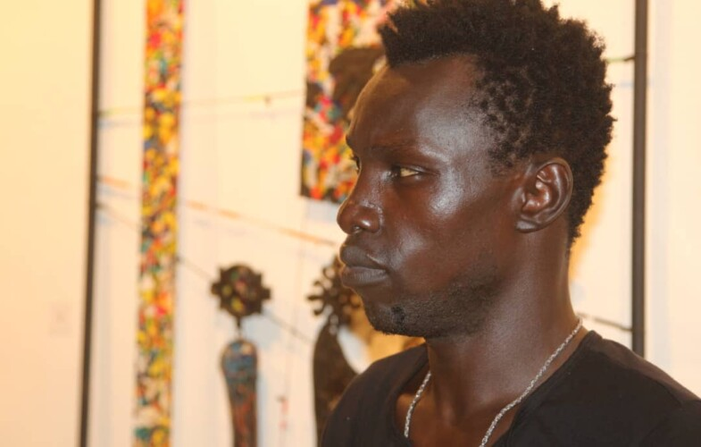 Culture : Guidimbaye Apollinaire veut placer le Tchad sur le marché international de l'art plastique