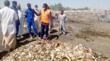 N'Djamena : la mairie du 7e arrondissement proscrit le dépôt des saletés au marché de Dembé