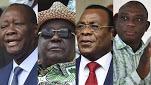 Cote d'ivoire : qui des quatre candidats sera élu President?
