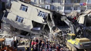 International : puissant séisme de magnitude 7 à l'ouest de la Turquie