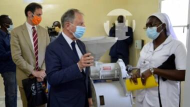 Tchad: inauguration d'une unité de production de farine enrichie au sein de l'Hôpital Notre Dame des Apôtres