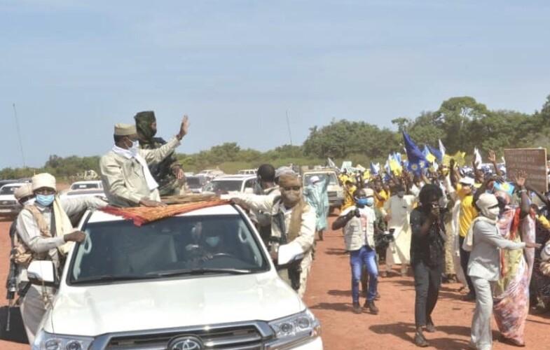 Tchad : le chef de l'Etat  vient d'arriver à Koumra