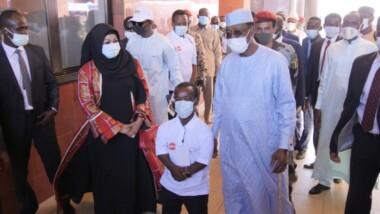Vidéo. Visite du président Idriss Déby Itno à la SME