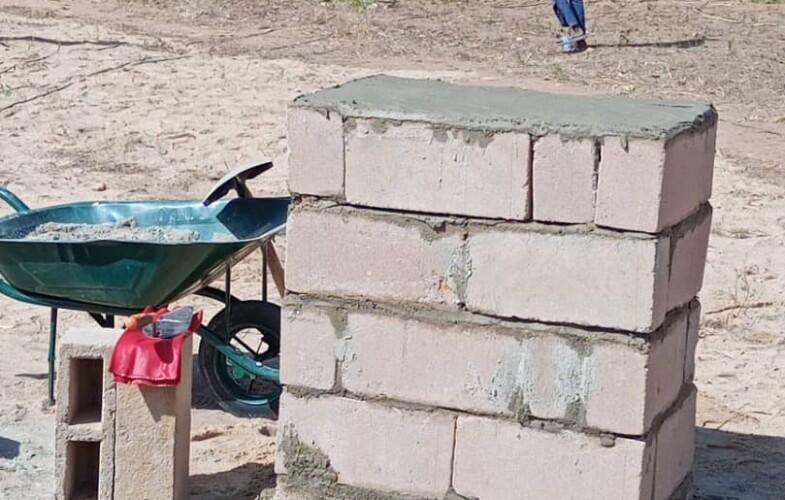 Tchad – Pala : Pose de la première pierre de construction d'un centre multimédia de l'Adetic