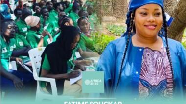Prix Africa 35.35 :  Une tchadienne parmi les 35 jeunes qui font bouger leurs communautés