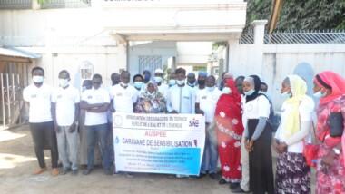 Tchad : L'AUSPEE sensibilise sur les dangers des branchements électriques anarchiques dans les 10 arrondissements de la capitale