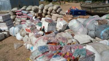 Lutte contre la fraude et la contrebande : Importante saisie des produits prohibés et frauduleux par la douane