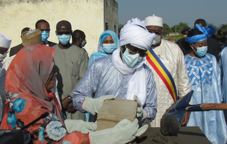 Tchad : l'Adetic lance les travaux de construction d'un centre multimédia à Sarh