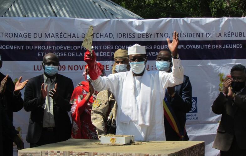 Tournée présidentielle : lancement des travaux de construction d'un centre de formation à Sarh
