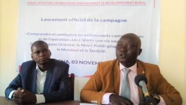 Tchad : l'association des jeunes pour l'animation et le développement rural prévient les enlèvements contre rançon