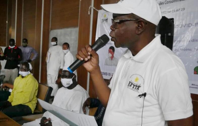 Coronavirus : l'ADC sensibilise les étudiants de Toukra