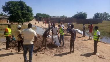 Montée des eaux : une assistance humanitaire pour les sinistrés