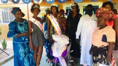 Tchad : La Miss top model 2020 Solkem Catherine Madouka reçoit une moto et d'autres lots
