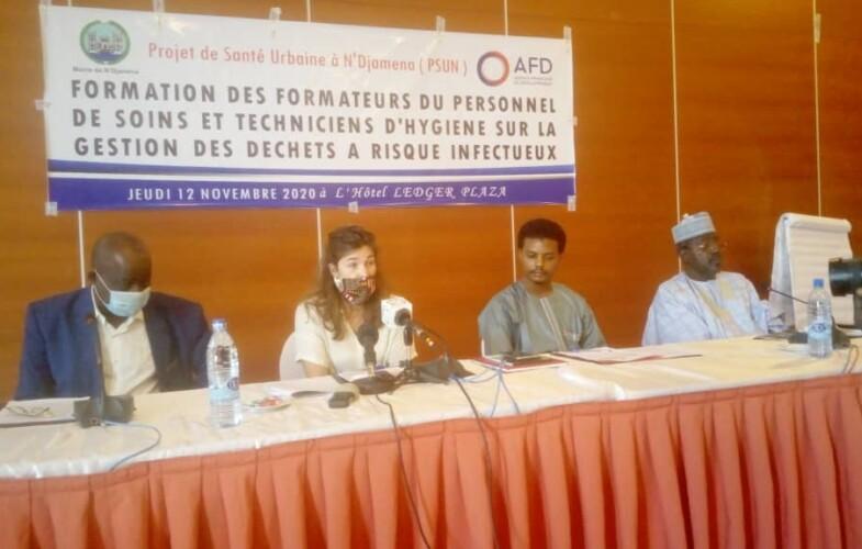 Tchad : la mairie de N'Djamena forme des responsables des établissements de soins