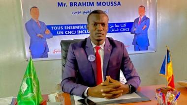 Tchad : Brahim Moussa de l'AsjT, candidat à la présidence du Cncj