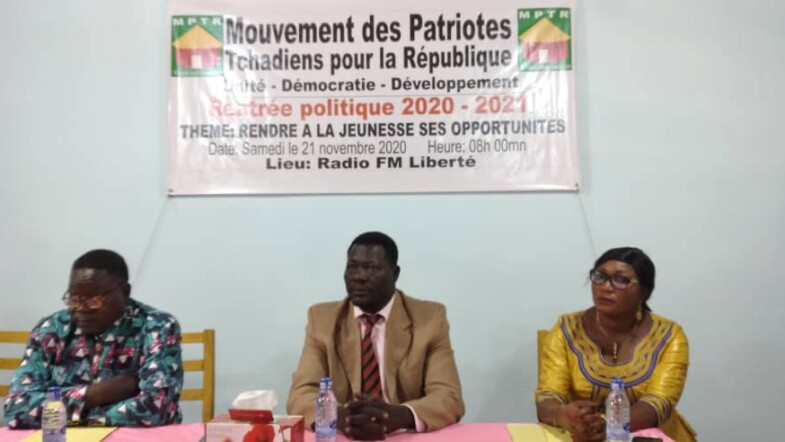 """Rentrée Politique du MPTR: """"que soit rendu à la jeunesse, ses opportunités"""", Mbaïmon Guedmbaye Brice"""