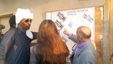 تشاد: وفد وزاري ثقافي قام بزيارة الموقع المخصص لأكاديمية الفنون