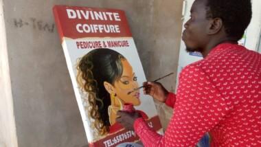 Tchad: Halam art, peintre dans l'âme
