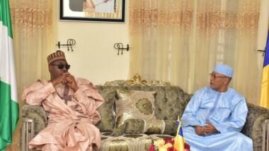 L'ambassadeur du Tchad au Nigeria reçoit le gouverneur de l'Etat du Borno