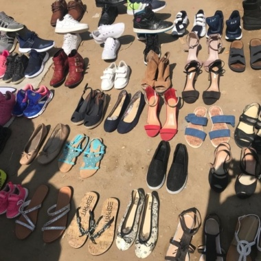 Tchad: des chaussures  recyclées en vogue