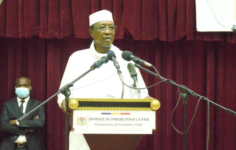 Journée de prière : « le Tchad nous a donné une  identité qui fait notre dignité», Idriss Déby Itno