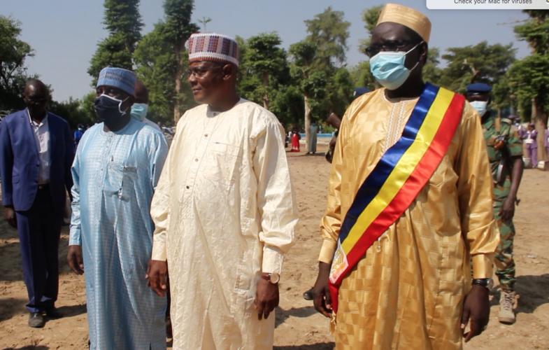 Tchad : Ibrahim Wang Laouna Foullah installé à la tête de la mairie de N'Djamena