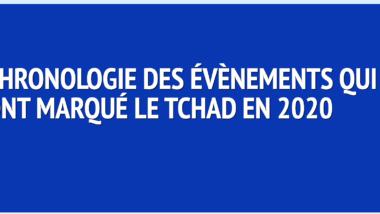 Chronologie  : voici les dix évènements qui ont marqué le Tchad en 2020