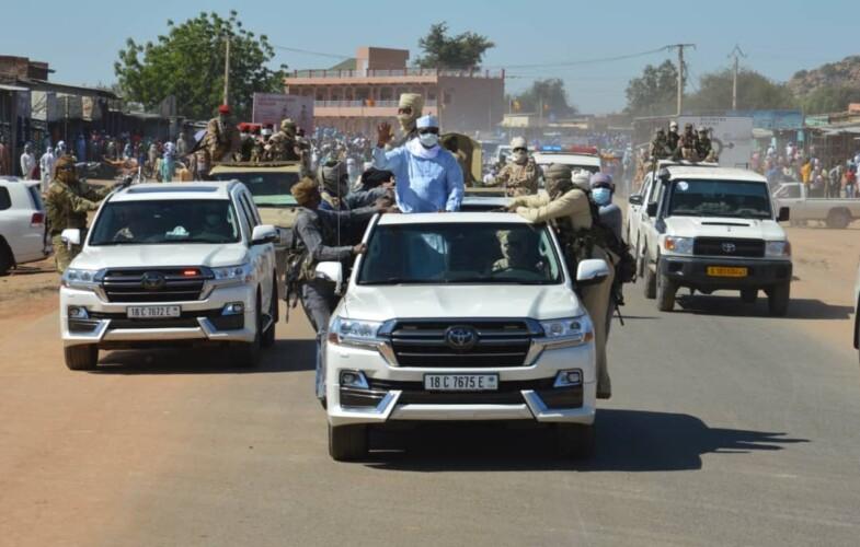 Tchad : le chef de l'Etat est à Mongo