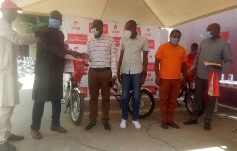 Airtel Tchad: première remise des gros lots aux gagnants et gagnantes de la Méga Promo «Choukrane»