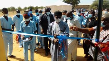 Tchad : Inauguration d'un laboratoire de grandes épidémies tropicales au CHU-Bon Samaritain