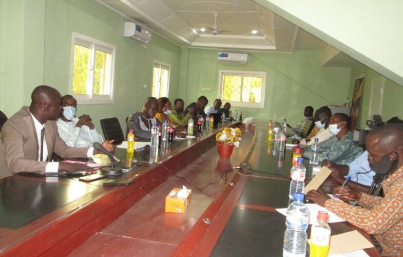 Tchad : Première rencontre du nouveau Bureau  du Conseil National de la Jeunesse du Tchad